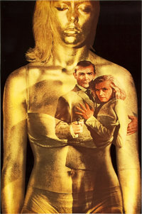 """Goldfinger (United Artists, 1964). British Double Crown (30"""" X 20"""")"""