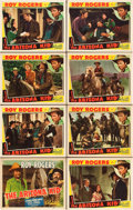 "Movie Posters:Western, The Arizona Kid (Republic, 1939). Lobby Card Set of 8 (11"" X 14"").. ... (Total: 8 Items)"