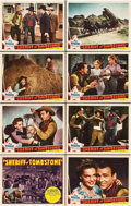 """Movie Posters:Western, Sheriff of Tombstone (Republic, 1941). Lobby Card Set of 8 (11"""" X 14"""").. ... (Total: 8 Items)"""