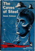 Books:First Editions, Isaac Asimov: The Caves of Steel. Garden City, New York:Doubleday, 1954.. First edition. Octavo. 224 pages....