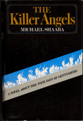 Books:First Editions, Michael Shaara. The Killer Angels. New York: David McKayCompany, Inc., 1974.. Review copy of the first editio...
