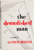 Books:Signed Editions, Alfred Bester. The Demolished Man. Chicago: ShastaPublishers, 1953.. First edition. Signed by the author, a...