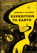 Books:First Editions, Arthur C. Clarke. Expedition to Earth. New York: BallantineBooks, Inc., 1953.. First edition. Twelvemo. 165 p...
