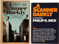 Books:First Editions, Philip K. Dick. Two First Editions of A Scanner Darkly,including: First American edition. Garden City, New ... (Total: 2Items)