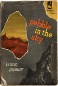 Books:First Editions, Isaac Asimov. Pebble in the Sky. Garden City, New York:Doubleday & Company, 1950. . First edition. Octavo. 22...