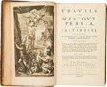 Books:First Editions, Cornelius le Bruyn. Travels into Muscovy, Persia, and Parts ofthe East-Indies. Containing, an Accurate Description of w...(Total: 2 Items)