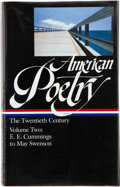Books:Signed Editions, American Poetry: The Twentieth Century. Volume Two. E. E. Cummings to May Swenson. [New York]: The Library of Americ...
