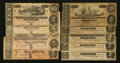 Confederate Notes:Group Lots, Mixed Lot of Confederate Notes. Nine Examples.. ... (Total: 9notes)