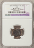 Bust Dimes, 1830/29 10C Medium--Improperly Cleaned--NGC Details. XF. JR-4. NGCCensus: (2/30). PCGS Population (2/21). Mintage: 510,000...