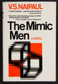 Books:First Editions, V. S. Naipaul. The Mimic Men. New York: The MacmillanCompany, [1967]. First American edition. Publisher's original ...