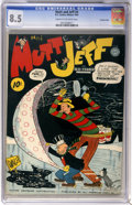 Golden Age (1938-1955):Humor, Mutt and Jeff #4 Crowley Copy pedigree (DC, 1941) CGC VF+ 8.5 Cream to off-white pages....