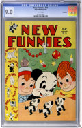 Golden Age (1938-1955):Funny Animal, New Funnies #71 Vancouver pedigree (Dell, 1943) CGC VF/NM 9.0 White pages....