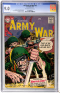 Silver Age (1956-1969):War, Our Army at War #54 (DC, 1957) CGC VF/NM 9.0 Off-white to white pages....