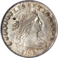 Early Dimes, 1798/97 10C 16 Stars on Reverse MS62 PCGS....