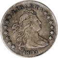 Early Dimes, 1804 10C 14 Stars on Reverse AU50 Corroded, Cleaned Uncertified....