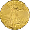 Proof Saint-Gaudens Double Eagles, 1907 $20 Small Edge Lettering PR64 NGC....