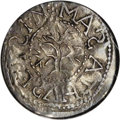 1652 3PENCE Oak Tree Threepence MS62 NGC....(PCGS# 18)