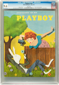 Playboy #6 (HMH Publishing, 1954) CGC NM+ 9.6 White pages