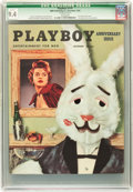 Magazines:Vintage, Playboy V2#1 (HMH Publishing, 1954) CGC Qualified NM 9.4 White pages....