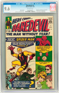 Silver Age (1956-1969):Superhero, Daredevil #1 (Marvel, 1964) CGC NM+ 9.6 Off-white pages....