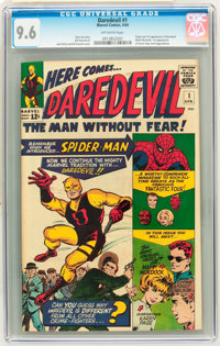 Daredevil #1 (Marvel, 1964) CGC NM+ 9.6 Off-white pages