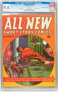 All-New Comics #2 Mile High pedigree (Harvey, 1943) CGC NM 9.4 White pages