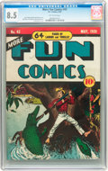 Golden Age (1938-1955):Miscellaneous, More Fun Comics #43 (DC, 1939) CGC VF+ 8.5 Off-white pages....