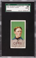 Baseball Cards:Singles (Pre-1930), 1909-11 T206 Piedmont Johnny Evers, Portrait SGC 88 NM/MT 8....