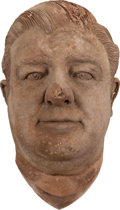 Movie/TV Memorabilia:Memorabilia, Lou Costello Life Mask....