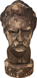 Movie/TV Memorabilia:Memorabilia, Fredric March as Mark Twain Bust....