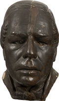 Movie/TV Memorabilia:Memorabilia, Paul Muni as Juarez Bronze Finish Bust....