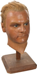 Movie/TV Memorabilia:Memorabilia, James Cagney Wax Head.... (Total: 2 )