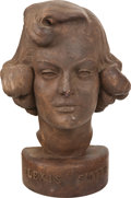 Movie/TV Memorabilia:Original Art, Alexis Smith Bust....