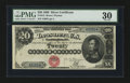 Large Size:Silver Certificates, Fr. 312 $20 1880 Silver Certificate PMG Very Fine 30.. ...