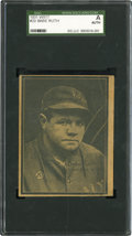 Baseball Cards:Singles (1930-1939), 1931 W517 Babe Ruth #20 SGC Authentic. ...