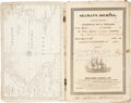 "Transportation:Nautical, Ship's Log Book for the Ship Sophia. Engrossed on the titlepage: ""Journal of a Voyage From Boston to Calcutta..."