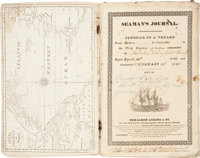 """Ship's Log Book for the Ship Sophia. Engrossed on the title page: """"Journal of a V"""