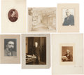 Photography:Studio Portraits, Group of Six Literary Photographs: (Unsigned). ... (Total: 6 Items)