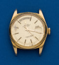 Timepieces:Wristwatch, Rolex Ref. 1803 Gold President For Restoration, circa 1971. ...