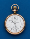 Timepieces:Pocket (post 1900), Rockford Grade 655 21 Jewel Up/Down Indicator. ...
