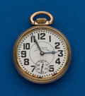 Timepieces:Pocket (post 1900), Waltham Vanguard, 23 Jewel, 16 Size. ...