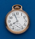 Timepieces:Pocket (post 1900), Illinois Sixty Hour Bunn Special, 21 Jewels. ...