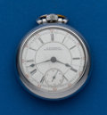 Timepieces:Pocket (post 1900), Columbus, 17 Jewel, 18 Size. ...
