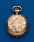 Timepieces:Pocket (post 1900), Waltham, 0 Size Hunters Case. ...