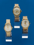 Timepieces:Wristwatch, Three - 2 Hamilton 1 Lord Elgin. ... (Total: 3 Items)