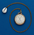 Timepieces:Pocket (post 1900), Elgin, 12 Size With Chain. ...