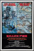 "Movie Posters:Horror, Killer Fish (AFD, 1979). One Sheet (27"" X 41""). Horror.. ..."