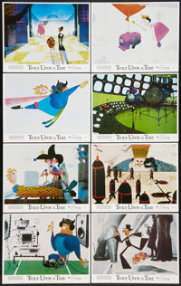 """Twice Upon a Time (Ladd Company, 1983). Lobby Card Set of 8 (11"""" X 14""""). Animation. ... (Total: 8 Items)"""