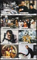 "Movie Posters:James Bond, Moonraker (United Artists, 1979). British Photo Set of 8 (8"" X 10""). James Bond.. ... (Total: 8 Items)"