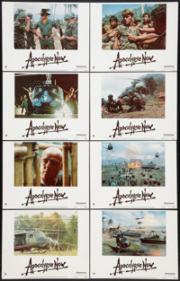 "Apocalypse Now (United Artists, 1979). Lobby Card Set of 8 (11"" X 14""). War. ... (Total: 8 Items)"